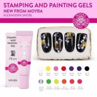 Moyra Stamping and Painting Gel in tube